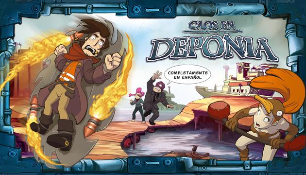 Caos en Deponia - Juegos - PC - Español - Aventura