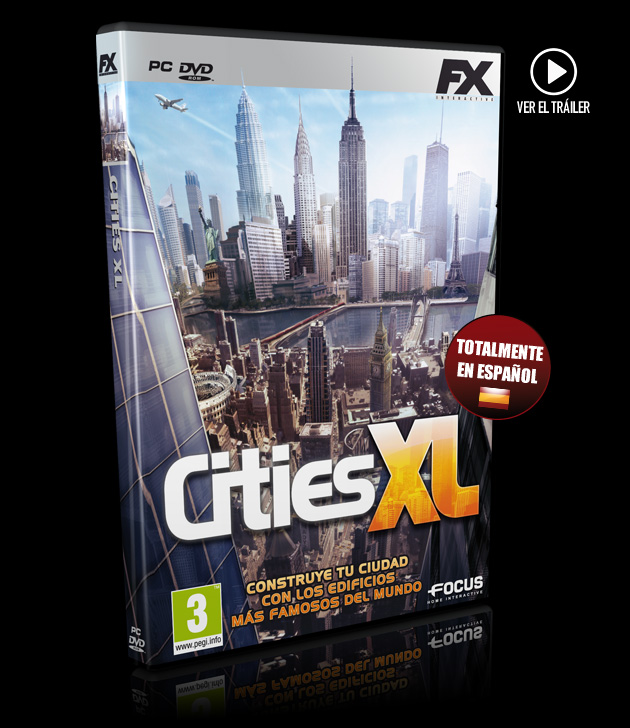 Cities XL - Juegos - PC - Español - City Builder
