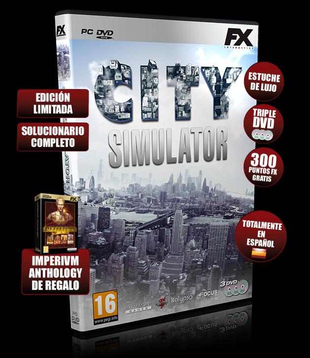 City Simulator - Juegos - PC - Español - Simulador