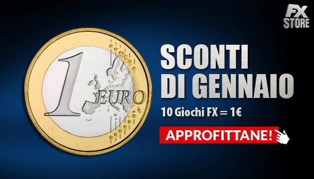 scarica giochi pc offerta italiano sconti gennaio FX Store
