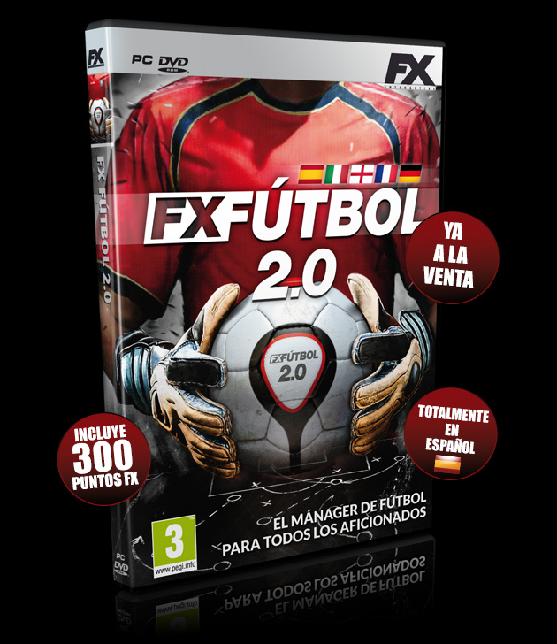 FX Fútbol 2.0 - Juegos - PC - Español - Fútbol