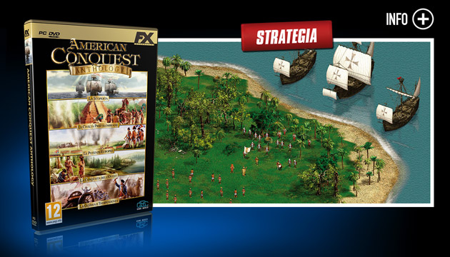American Conquest - Giochi - PC - Italiano - Strategia