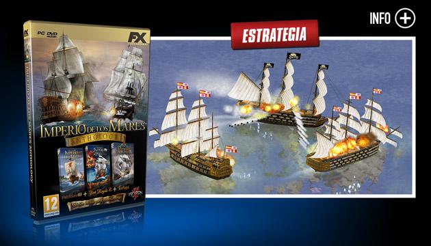 Imperio de los Mares - Juegos - PC - Español - Estrategia