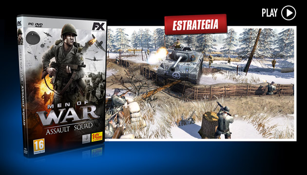 Men of War Assault Squad - Juegos - PC - Español - Estrategia