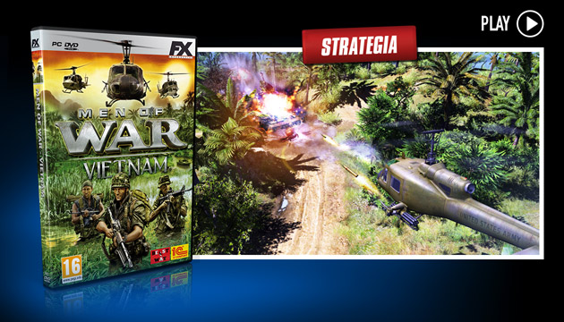 Men of War Vietnam - Giochi - PC - Italiano - Strategia