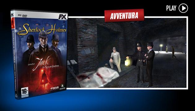 Sherlock Holmes 5 - Giochi - PC - Italiano - Avventura