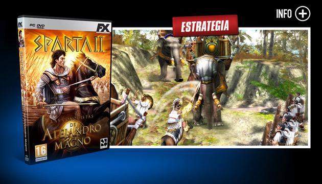 Sparta II - Juegos - PC - Español - Estrategia