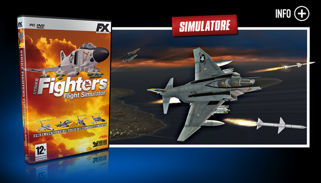 Strike Fighters - Giochi - PC - Italiano - Simulazione