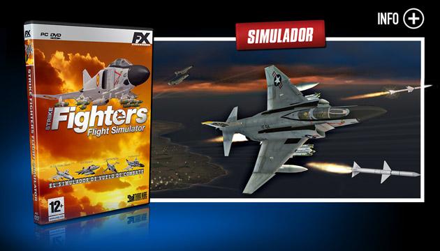 Strike Fighters - Juegos - PC - Español - Simulación