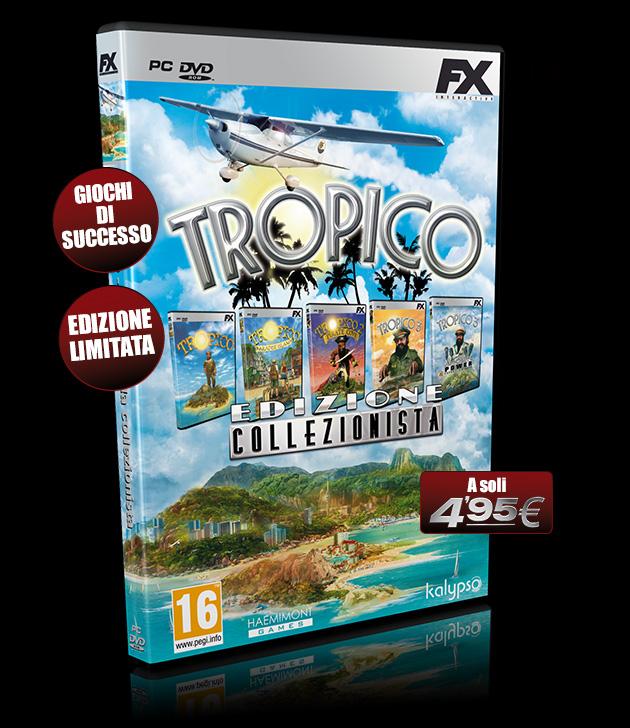 Tropico Collezionista - Giochi - PC - Italiano - Simulazione Sociale