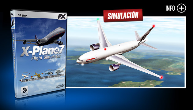 X-Plane 7 - Juegos - PC - Español - Simulación
