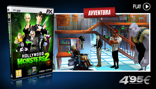 Hollywood Monsters 2 - Giochi - PC - Italiano
