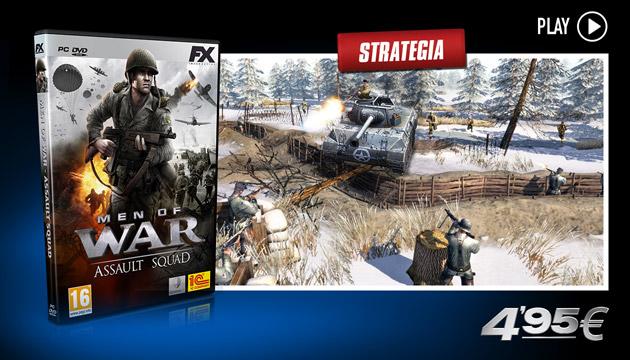 Men of War Assault Squad - Giochi - PC - Italiano