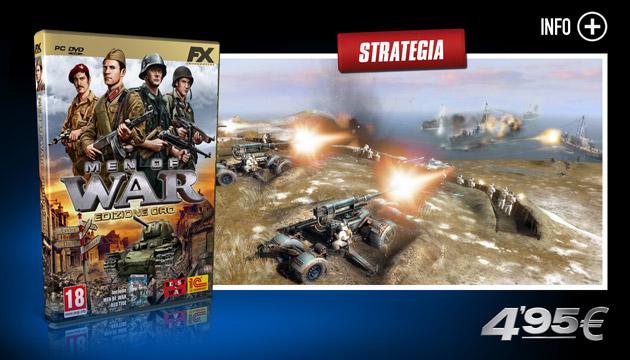Men of War Oro - Giochi - PC - Italiano