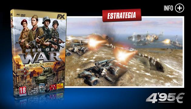Men of War Oro - Juegos - PC - Español