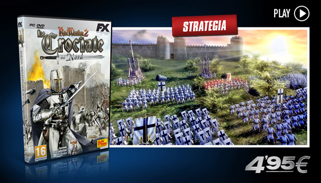 Real Warfare 2 Le Crociate del Nord - Giochi - PC - Italianol