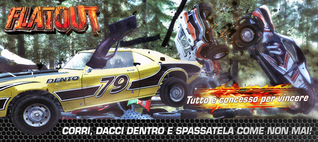 Flat Out - Giochi - PC - Italiano - Automobilismo