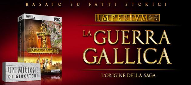Imperivm La Guerra Gallica - Giochi - PC - Italiano - Strategia