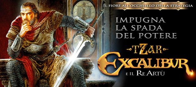 Tzar Excalibur - Giochi - PC - Italiano - Strategia