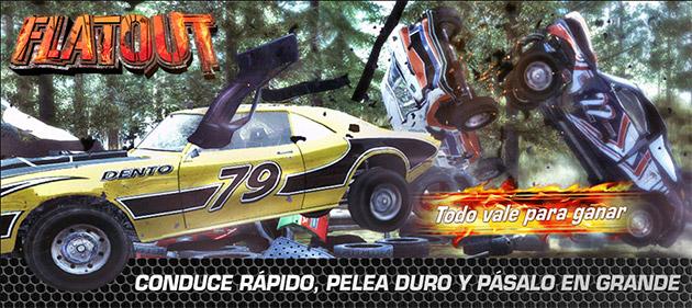 Flat Out - Juegos - PC - Español - Carreras