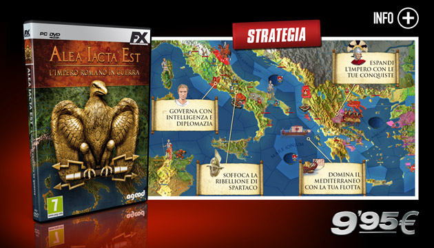 Alea Iacta Est - Giochi - PC - Italiano - Strategia