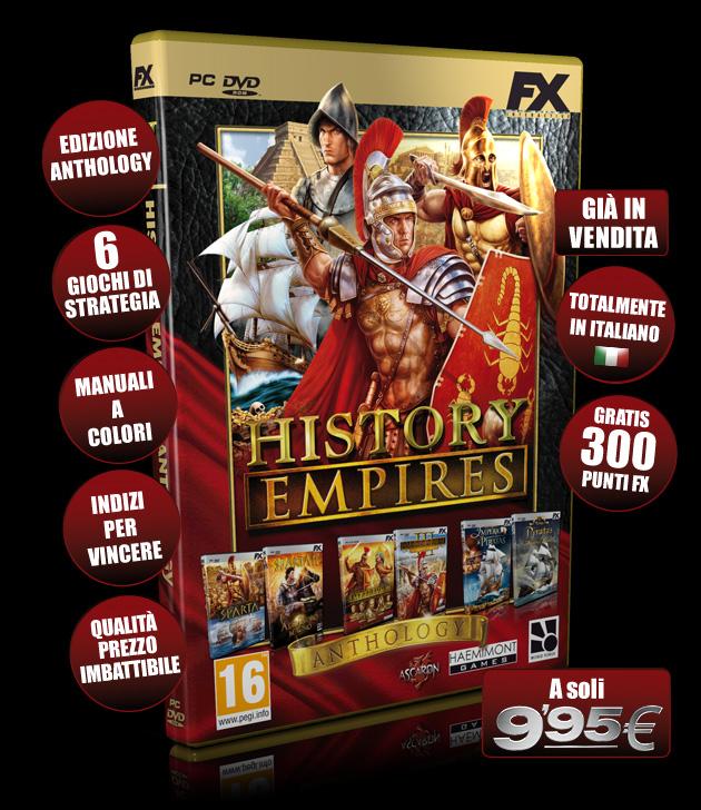 History Empires - Giochi - PC - Italiano - Strategia
