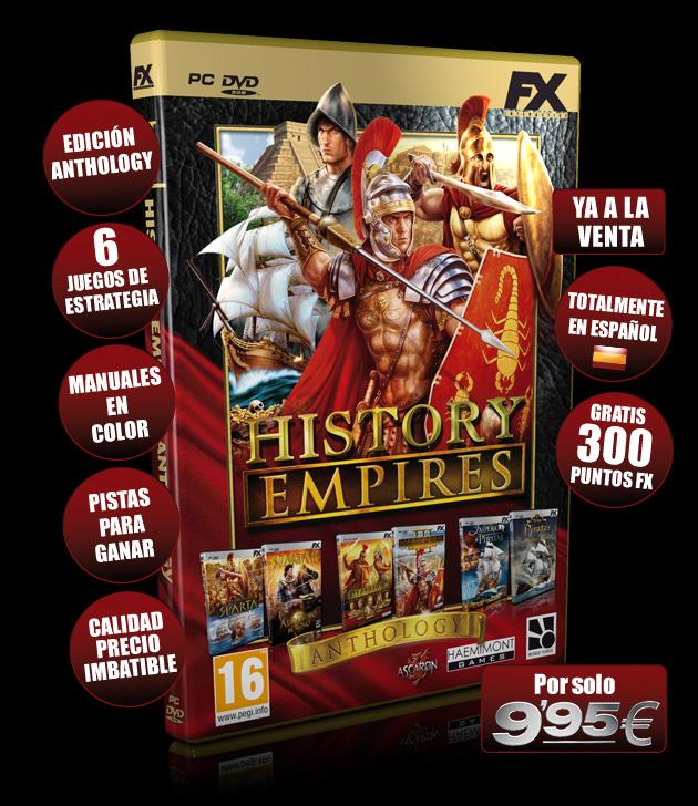 History Empires - Juegos - PC - Español - Estrategia