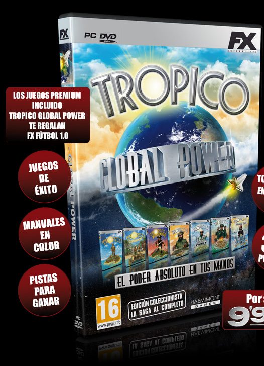 Tropico Global Power - Juegos - PC - Espanol