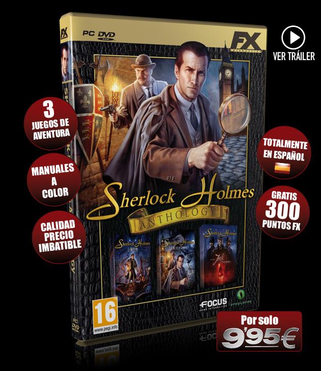 Sherlock Holmes Anthology - Juegos - PC - Español - Aventura