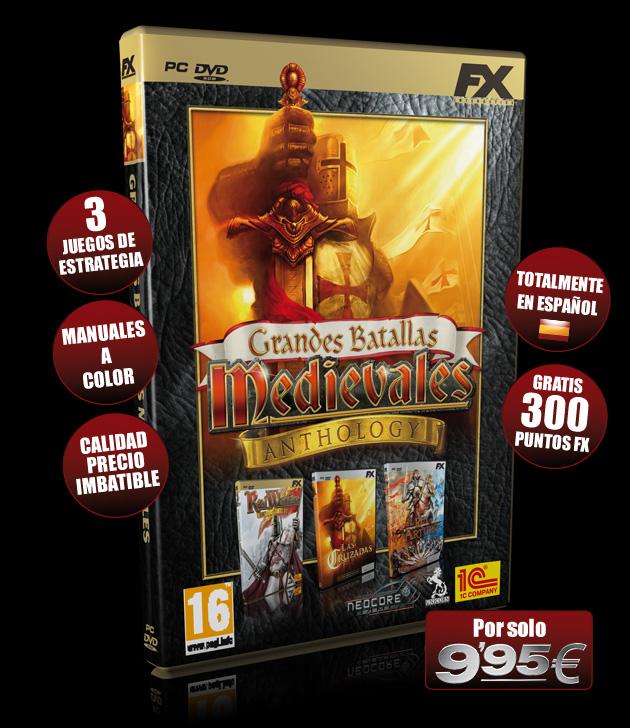 Grandes Batallas Medievales - Juegos - PC - Español - Estrategia