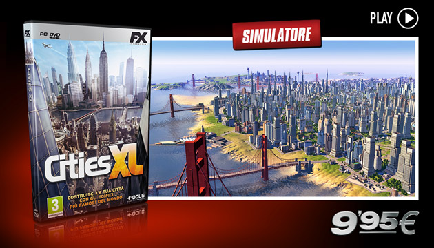Cities XL- Giochi - PC - Italiano - Simulazione