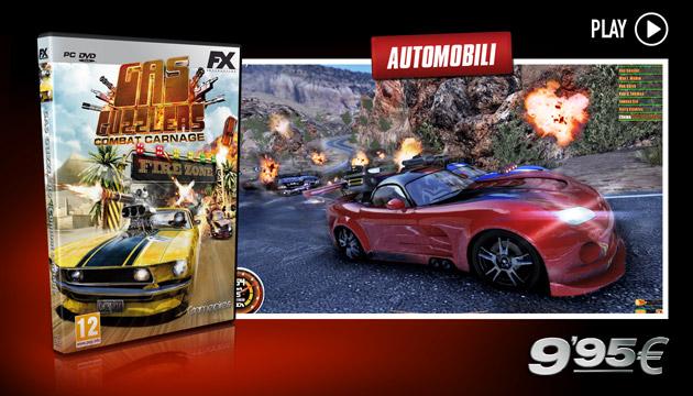 Gas Guzzlers - Giochi - PC - Italiano - Automobili