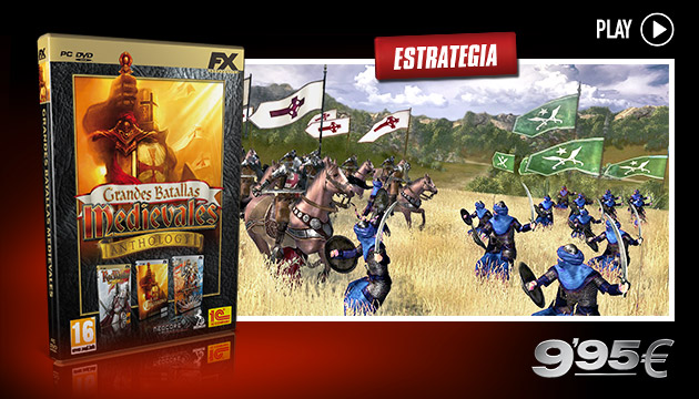 Grandes Batallas Medievales Anthology  - Juegos - PC - Español - Estrategia