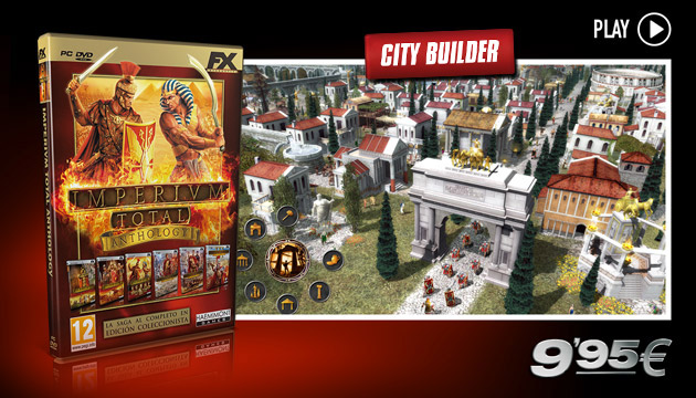 Imperivm Total Anthology - Juegos - PC - Español - City Builder