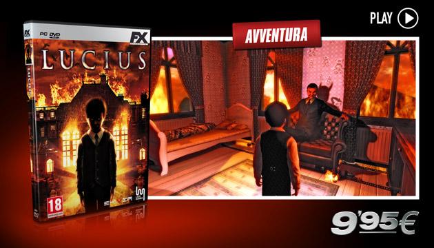 Lucius- - Giochi - PC - Italiano - Avventura