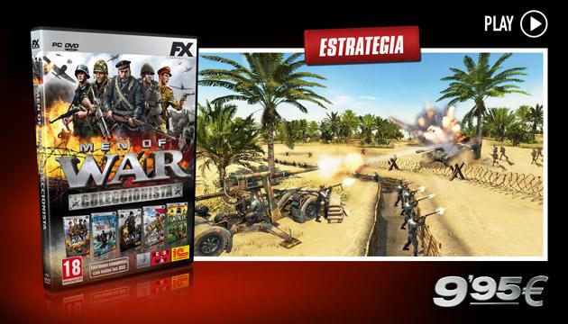 Men of War Coleccionista - Juegos - PC - Español - Estrategia