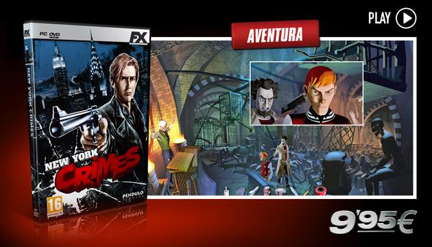 New York Crimes - Juegos - PC - Espanol - Aventura
