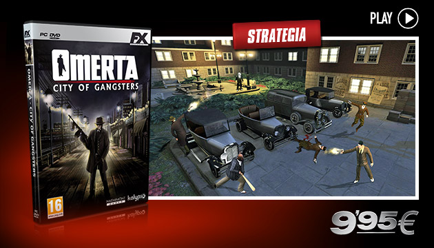 Omerta - Giochi - PC - Italiano - Strategia