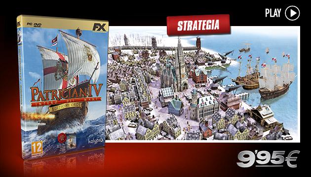 Patrician IV - Giochi - PC - Italiano - Strategia