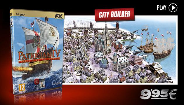 Patrcian IV  - Juegos - PC - Español - City Builder