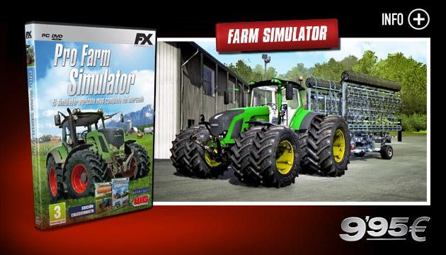 Pro Farm Simulator - Juegos - PC - Español - Simulación