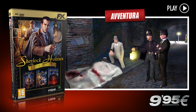 Sherlock Holmes Anthology - Giochi - PC - Italiano - Avventura
