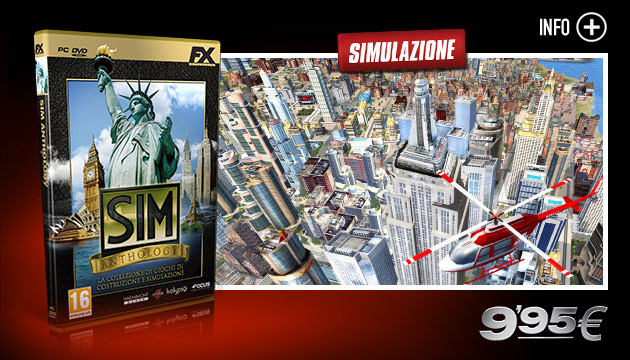 SIM Anthology - Giochi - PC - Italiano - Simulazione