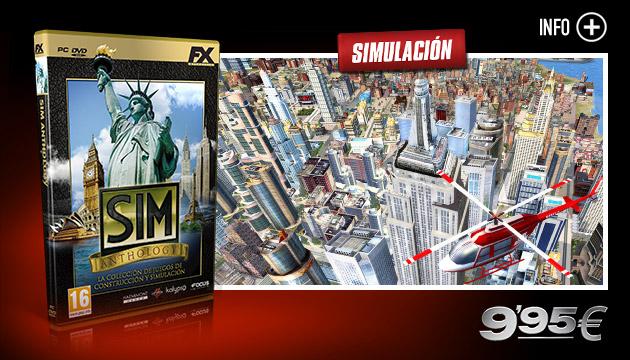 SIM Anthology - Juegos - PC - Espanol - Simulación