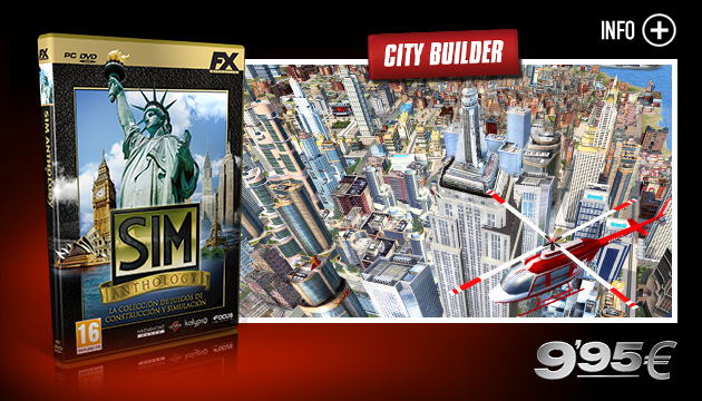 SIM Anthology - Juegos - PC - Español - City Builder