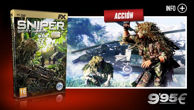 Sniper Ghost Warrior - Juegos - PC - Español - Acción