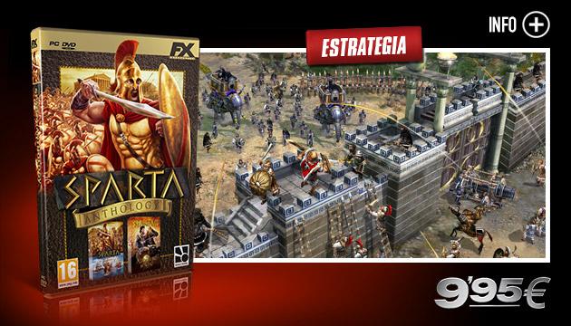 Sparta Anthology - Juegos - PC - Español - Estrategia