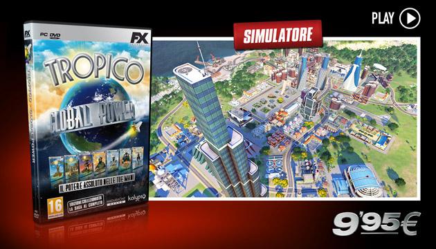 Tropico Global Power - Giochi - PC - Italiano - Simulazione sociale
