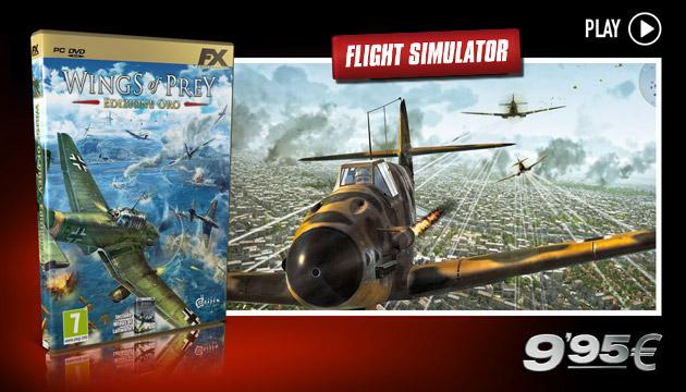 Wings of Prey - Juegos - PC - Espanol - Simulación