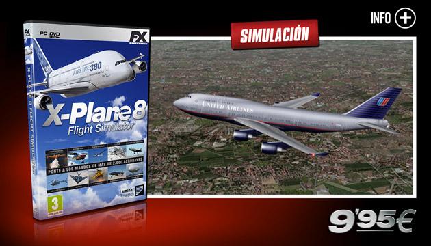 X-Plane 8 - Juegos - PC - Español - Simulación